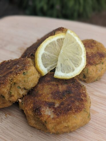 Ginger Salmon Patties