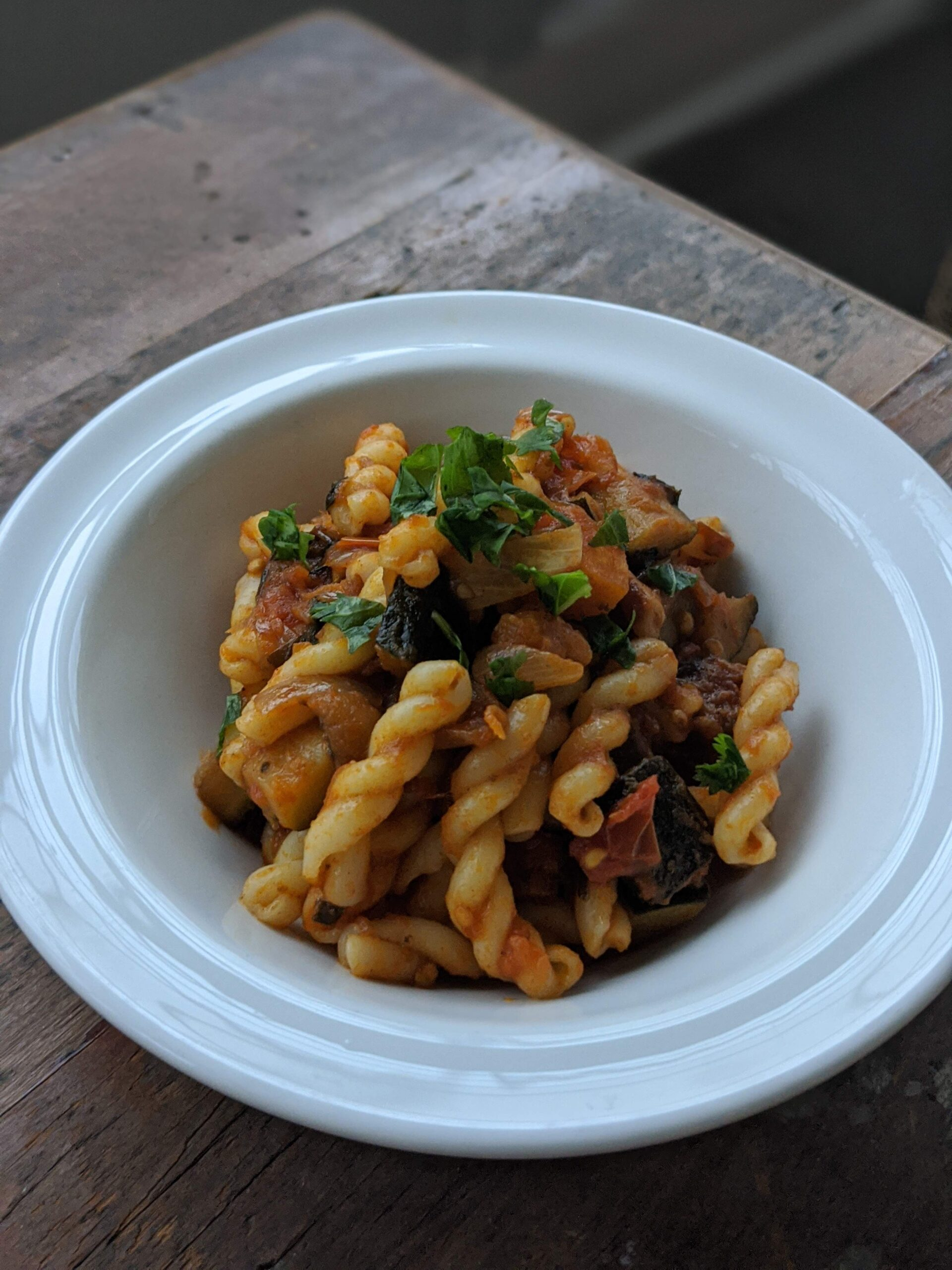 Pasta Caponata (My Version)