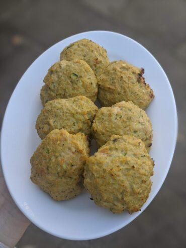 chicken & vegetable rissoles