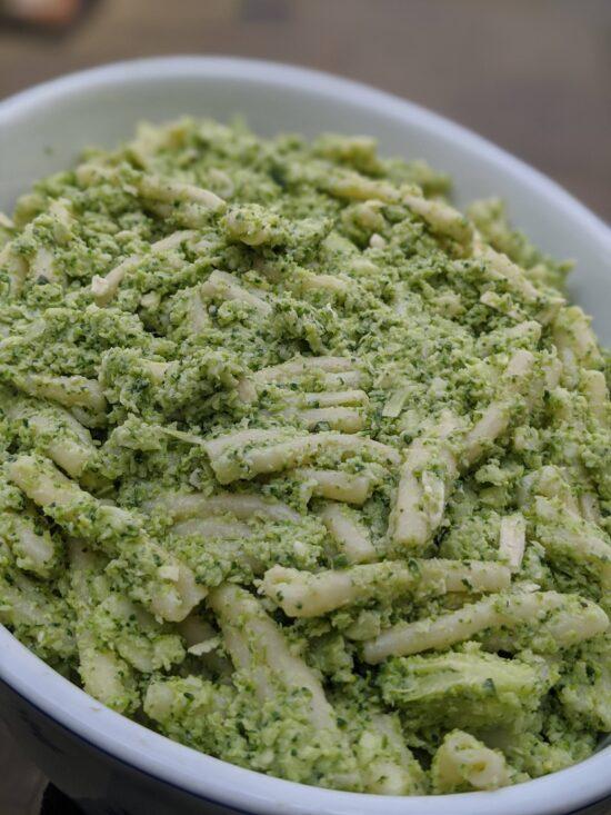 Green Pasta Bake
