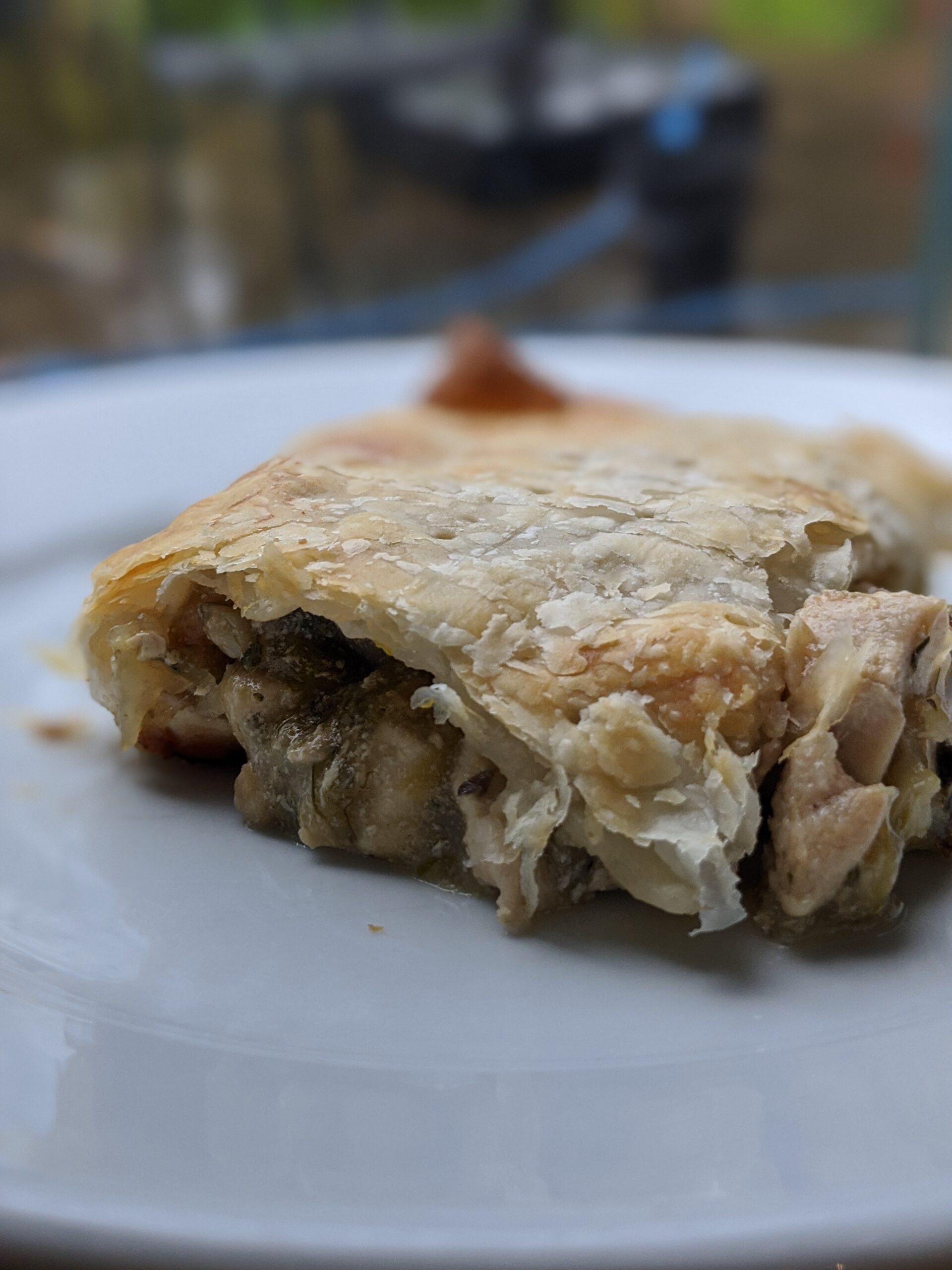 Chicken, Mushroom & Leak Pie